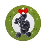 Schnauzer christmas Ornaments