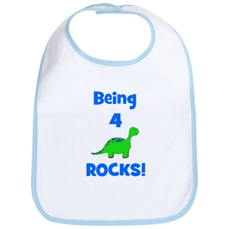 Being 4 Rocks! Dinosaur Bib