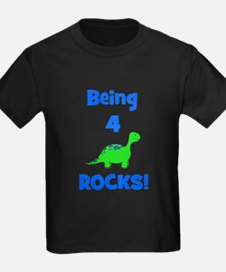 Being 4 Rocks! Dinosaur T