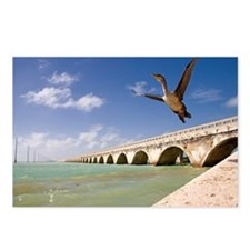 Seven mile bridge and imm Postcards (Package of 8)