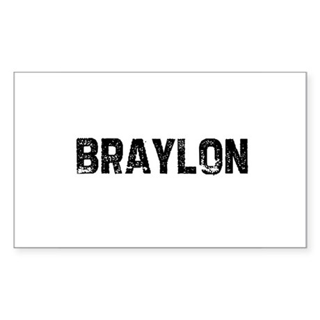 Braylon Rectangle Sticker