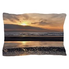 Sunset beach Pillow Case