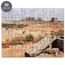 "One of the ""Dead Cities"", near Idlib, Syria Puzzle"
