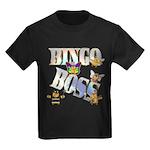 Bingo Boss Animals Kids Dark T-Shirt