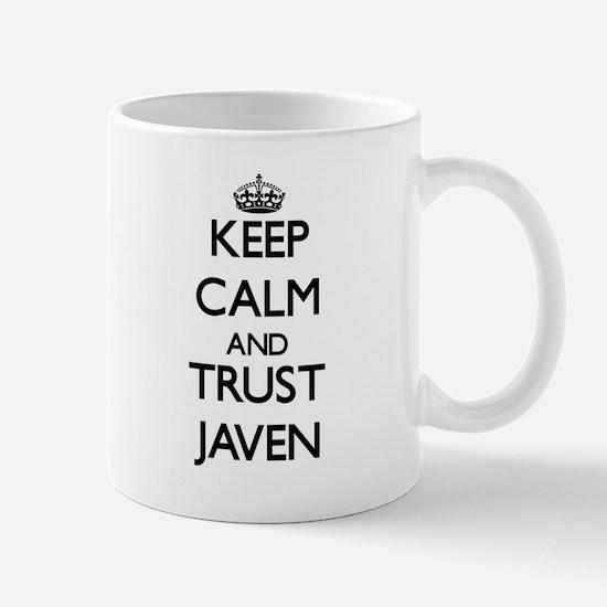 Keep Calm and TRUST Javen Mugs