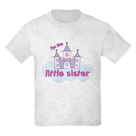 i'm the little sister castle Kids Light T-Shirt