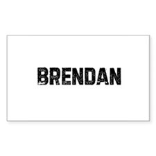 Brendan Rectangle Decal
