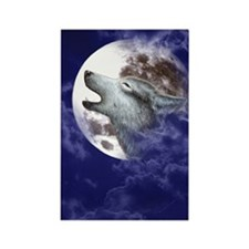 IPod_Touch_4_Case_Moon Wolf Rectangle Magnet