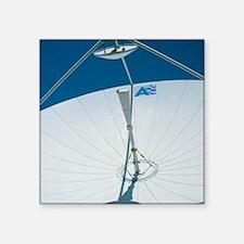"""Close up of a satellite rec Square Sticker 3"""" x 3"""""""