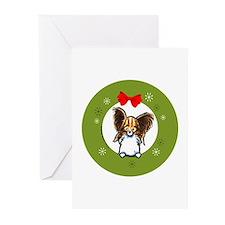 Papillon Christmas Greeting Cards (Pk of 20)