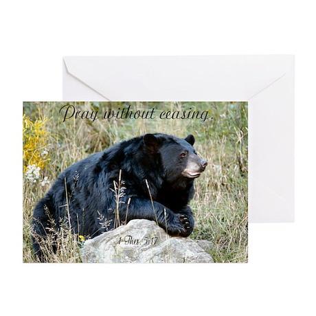 Prayer Bear Greeting Cards (Pk of 10)
