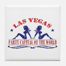 Las Vegas: Party Capital Tile Coaster