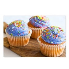 Cupcakes Postcards (Package of 8)