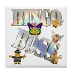 Bingo Boss Animals Tile Coaster
