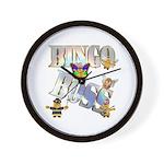 Bingo Boss Animals Wall Clock