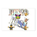 Bingo Boss Animals Postcards (Package of 8)
