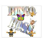 Bingo Boss Animals Small Poster