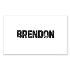 Brendon Rectangle Decal