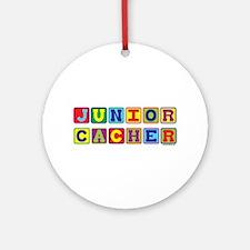 Junior Cacher Ornament (Round)
