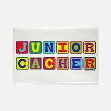 Junior Cacher Rectangle Magnet