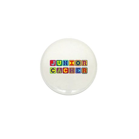 Junior Cacher Mini Button (10 pack)