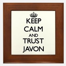 Keep Calm and TRUST Javon Framed Tile