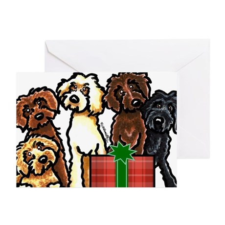 Labradoodle Christmas Greeting Cards (Pk of 10)