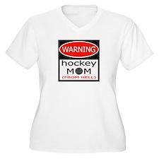 Warning Hockey Mom T-Shirt