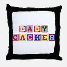 Junior Cacher Throw Pillow