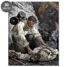 Coal mine rescue, 19th century Puzzle