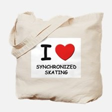 I love synchronized skating Tote Bag