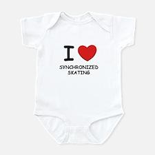 I love synchronized skating  Infant Bodysuit