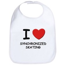 I love synchronized skating  Bib