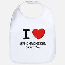 I love synchronized skating  Bib