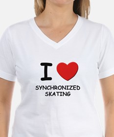 I love synchronized skating Shirt
