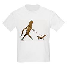 Sock Monkey and Dachshund T-Shirt