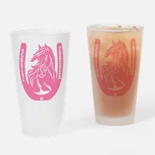 Cowgirl Drinking Glass