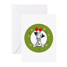 Dalmation Christmas Greeting Cards (Pk of 10)