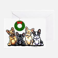 French Bulldog Christmas Greeting Cards (Pk of 10)