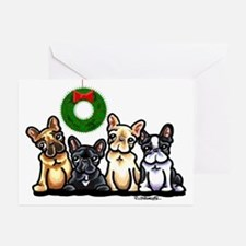 French Bulldog Christmas Greeting Cards (Pk of 20)