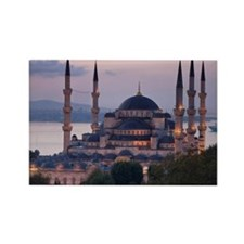 The Blue Mosque, Istanbul, Turkey Rectangle Magnet