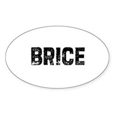 Brice Oval Decal