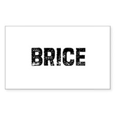 Brice Rectangle Decal
