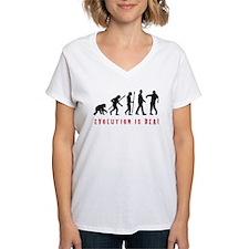 evolution of man zombie walking dead T-Shirt
