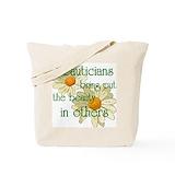 Beautician Canvas Tote Bag