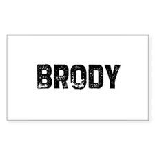 Brody Rectangle Decal
