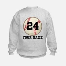 Personalized Baseball Sports Sweatshirt