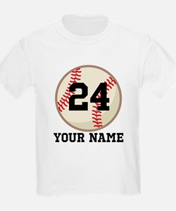 Personalized Baseball Sports T-Shirt