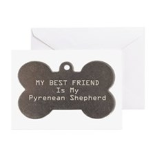 Pyrenean Friend Greeting Cards (Pk of 10)