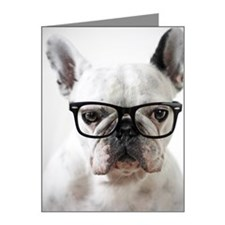 Close up of white dog Note Cards (Pk of 10)